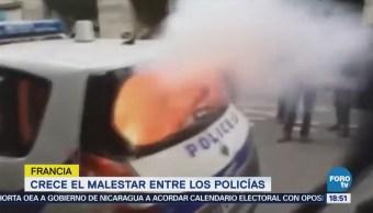 Salud Policía Francesa Pende Hilo Riesgo Suicidios
