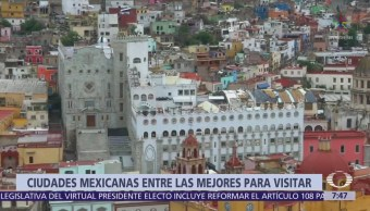 San Miguel de Allende, Oaxaca y CDMX, entre mejores ciudades para viajar
