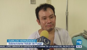 Sobrevivientes Reponen Tragedia Volcán Guatemala