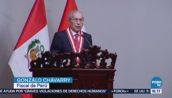 Asume Nuevo Fiscal Pese Escándalo Perú
