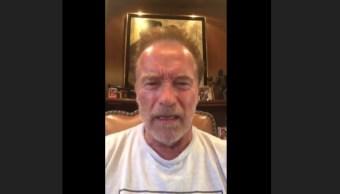 Schwarzenegger esperaba trump le pidiera un autógrafo Putin