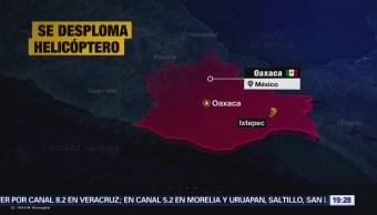 Desploma Aeronave Fuerza Aérea Mexicana