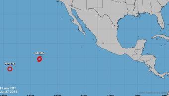 Se forma tormenta tropical 'Gilma' en el Pacífico