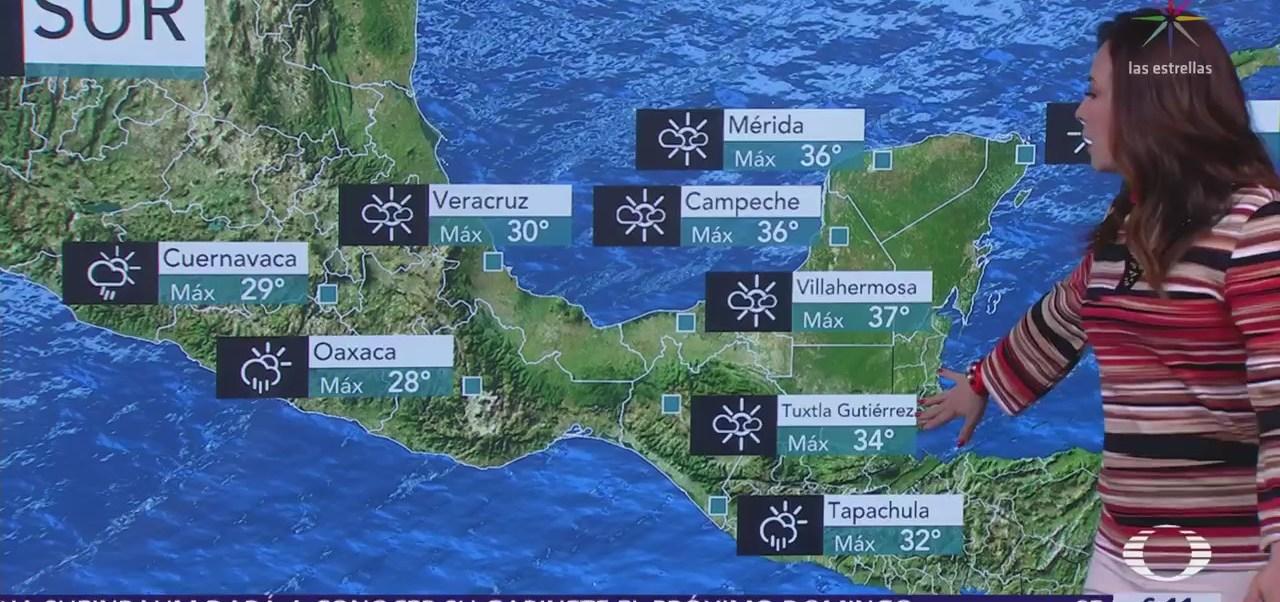 Se mantiene potencial de tormentas en la mayor parte del país