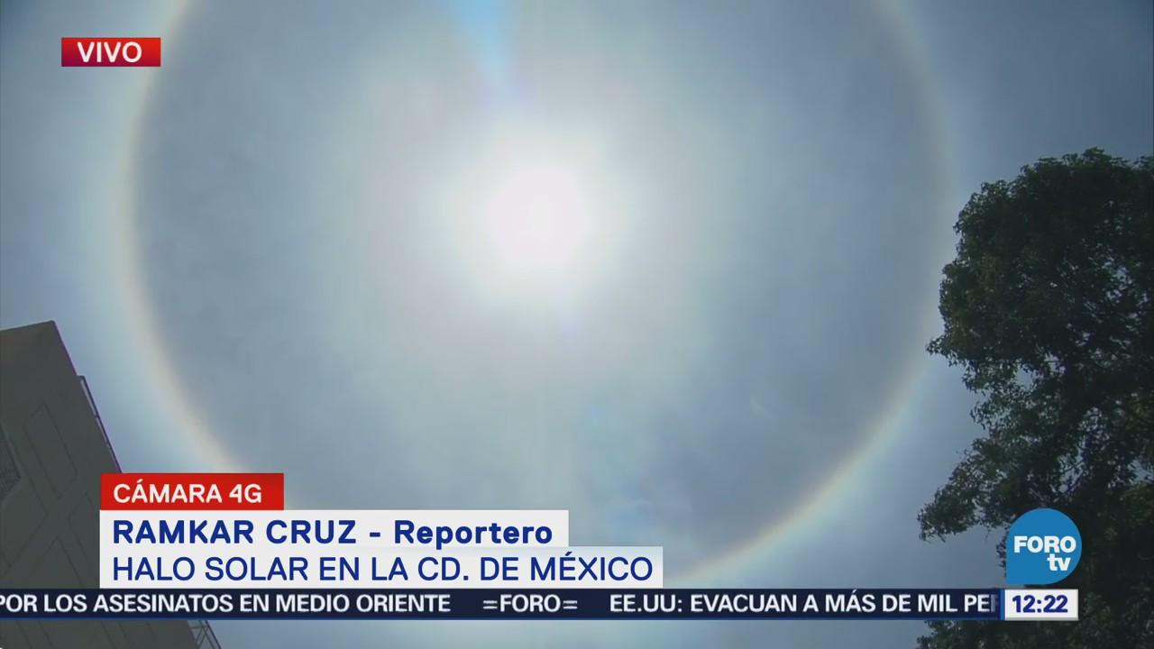 Registra Halo Solar Ciudad México