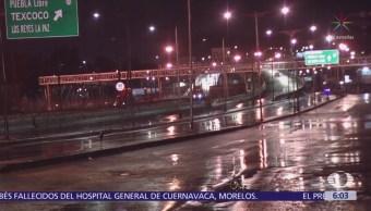 Se registran afectaciones por lluvias y granizo en la CDMX