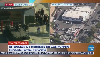 Registran Disparos Toma Rehenes California EU