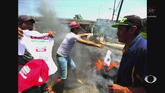 Se registran protestas en Yucatán por