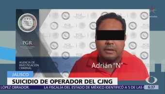 Se suicida operador del CJNG en penal de Puente Grande