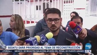 Sedatu Dará Prioridad Tema Reconstrucción CDMX