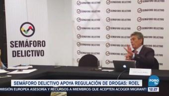 Semáforo Delictivo apoya despenalización de drogas