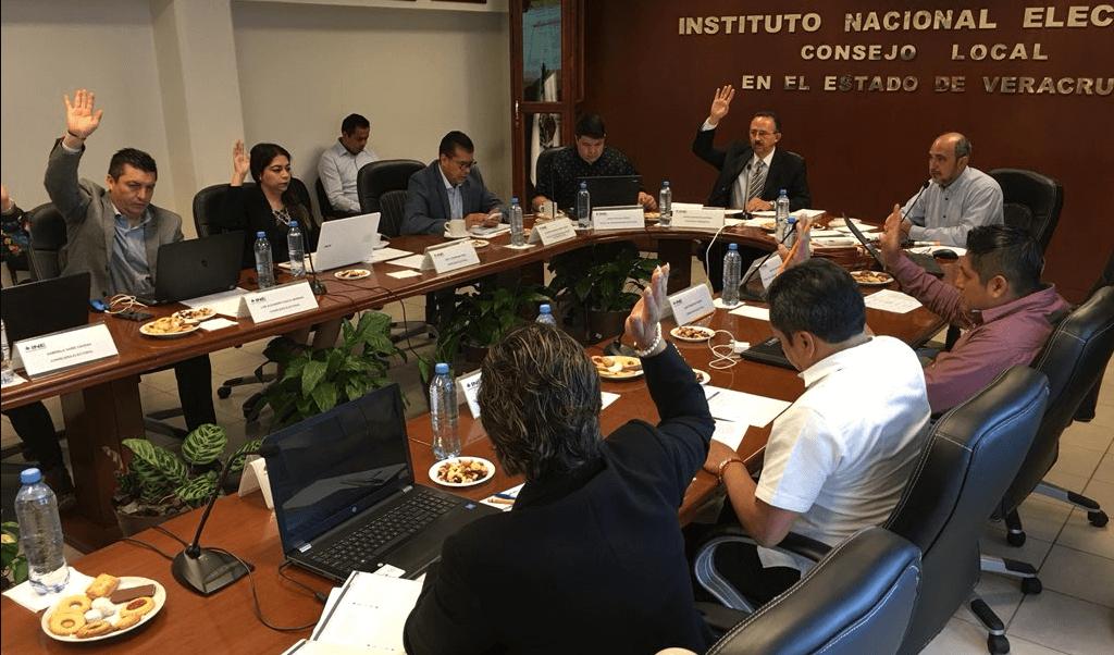Realizan cómputo distrital de la elección en Veracruz