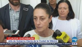 Sheinbaum reitera: se acabaron las fotomultas