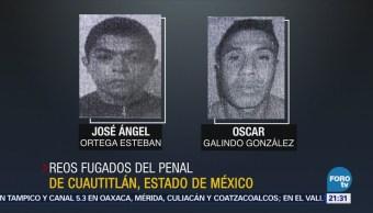 Sigue Búsqueda Reos Fugados Penal Cuautitlán
