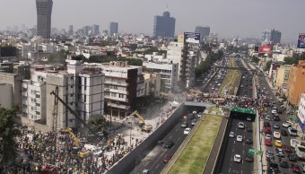 UNAM crea mapa intensidades sísmicas y daños tiempo real