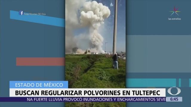 Solo un polvorín que estalló en Tultepec tenía permiso
