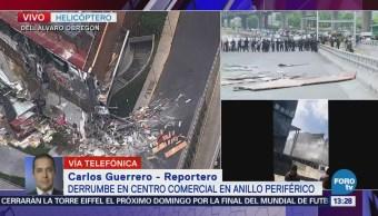 Termina revisión total de la plaza Artz Pedregal tras derrumbe