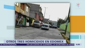 Tiran dos cadáveres en calles de Ecatepec