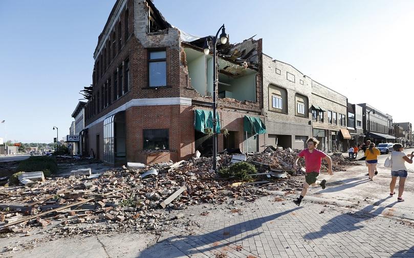 Tornado causa destrozos y heridos Iowa Estados Unidos