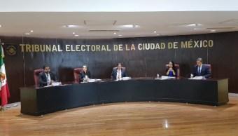 Tribunal Electoral CDMX declara improcedente renuncia de candidata