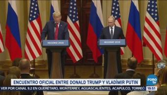 Trump Putin Reúnen Hablan Rusiagate