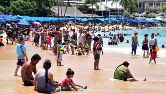 Emiten alerta preventiva nuevo evento mar de fondo Acapulco