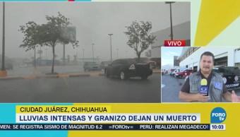 Muere Persona Ciudad Juárez Temporal Lluvias