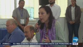 Vicepresidenta Nicaragua Asegura 'Golpistas' Responderán Justicia