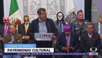 Declaran a la lucha libre como patrimonio cultural de CDMX