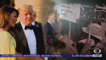 Visita de Trump Reino Unido desata protestas