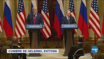 Vladimir Putin y Donald Trump se encuentran