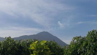 Volcán Pacaya en Guatemala registra flujo