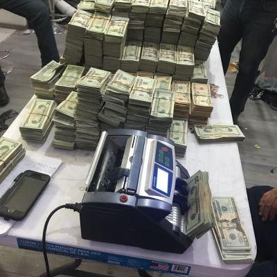 Aseguran cocaína, arsenal y más de un mdd en Matamoros, Tamaulipas