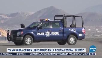 Habrá Crimen Uniformado Policía Federal Durazo