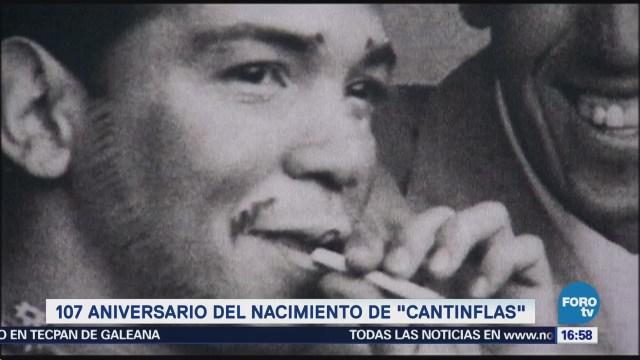 107 aniversario del nacimiento de 'Cantinflas' Mario Moreno