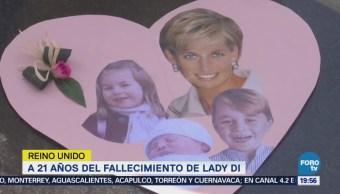 21 Años Fallecimiento Lady Di Princesa París