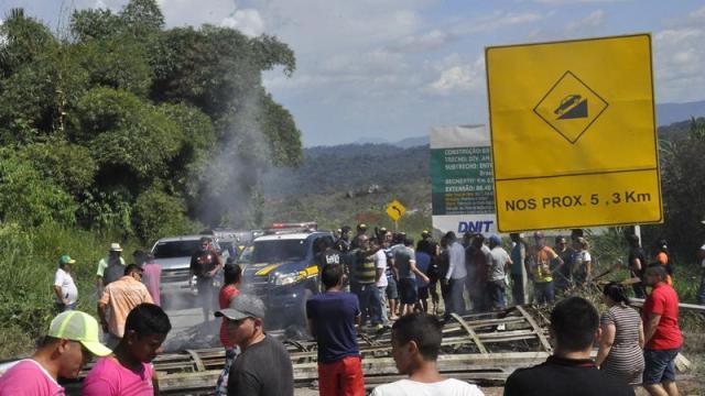 Refugiados venezolanos en Brasil son expulsados