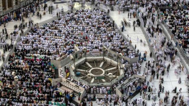 Dos millones de musulmanes realizan peregrinación anual a La Meca