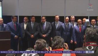 8 gobernadores del PAN apoyan a Héctor Larios para dirigir el partido