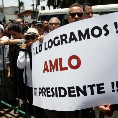 Miles celebran declaratoria de AMLO como presidente electo