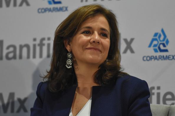 Foto: Margarita Zavala excandidata independiente a la presidencia de la República