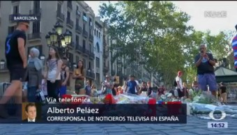 A Un Año Del Atentado Barcelona, Barcelona, España Ceremonia Luctuosa