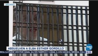 Absuelven a Elba Esther Gordillo