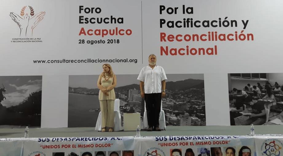 Acapulco inaugura foro de pacificación y reconciliación