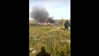 Helicóptero se estrella en Siberia; hay 18 muertos