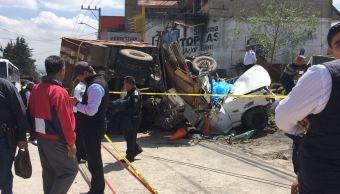 Accidente automovilístico en Huixquilucan deja un muerto