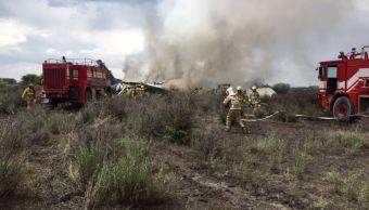 Seguridad aérea de EU apoya investigación de accidente en Durango