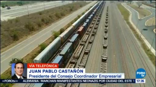 Acuerdo Comercial Con Estados Unidos Benéfico, Falta Canadá Falta Incorporar A Canadá Juan Pablo Castañón, Presidente Del Cce