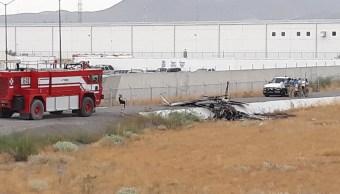 Cae avioneta en inmediaciones del Aeropuerto de Cd. Juárez