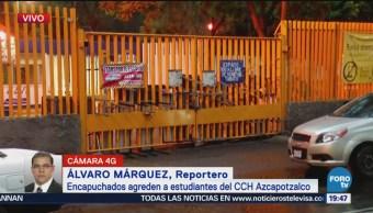 Estudiantes Del Cch Azcapotzalco Toman Instalaciones Escolares Demandan Explicaciones Presupuesto, Paro Estudiantil Unam